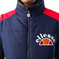 Afbeelding van Ellesse SORBO SHY05324 Bodywarmer DRESS BLUES / CITRUS / TRUE RED