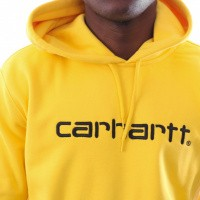 Afbeelding van Carhartt Wip Hooded Carhartt Sweat I026270 Hooded Primula / Black