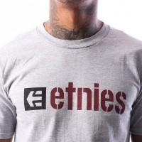Afbeelding van Etnies BOX S/S TEE 4138000001 T shirt GREY/HEATHER 15