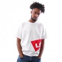 Afbeelding van Levi`s OVERSIZED GRAPHIC TEE 69978-0001 T Shirt Oversized Hm White