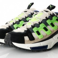 Afbeelding van Puma CELL ENDURA SANKUANZ 369611 Sneakers Cloud Cream-Green Gecko-Puma Black