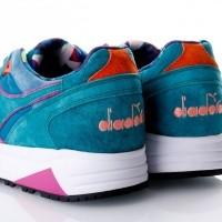 Afbeelding van Diadora N9002 made in italy 501173692 Sneakers emerald