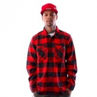 Dickies 05 200142-RD Shirt Sacramento Red