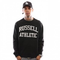 Russell Athletic Iconic Tackle Twill A9-003-1 Crewneck Black