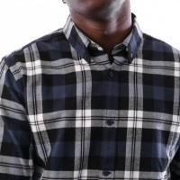 Afbeelding van Carhartt WIP L/S Lessing Shirt I025230 Shirt Lessing Check, Blue