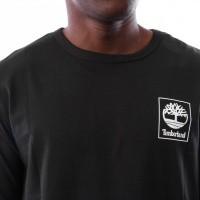 Afbeelding van Timberland SLS LS Seasonal logo tee TB0A1N8Z0011 Longsleeve Black
