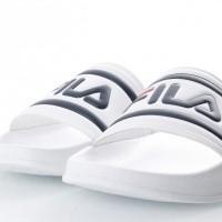 Afbeelding van Fila 1010286-1FG Slide sandal Morro bay Wit