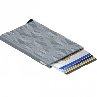 Afbeelding van Secrid Cardprotector Laser CLA Portemonnee Zigzag Titanium