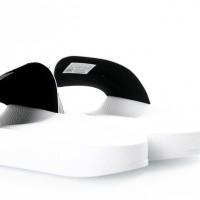 Afbeelding van Adidas Originals 280648 Slide sandal Adilette adicolor const Wit