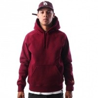 Afbeelding van Carhartt WIP Hooded Chase Sweatshirt I024653 Hooded Mulberry / Gold