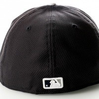 Afbeelding van New Era Diamond Era 10757135 Fitted Cap Black/Grey Mlb New York Yankees