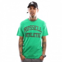 Russell Athletic Iconic Short Sleeve A9-002-1 T shirt Wild Lime
