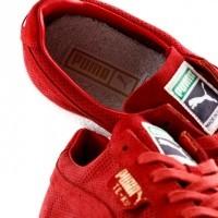 Afbeelding van Puma Te-Ku Summer 365422 02 Sneakers Red Dahlia - Puma White