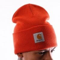 Afbeelding van Carhartt WIP Acrylic Watch Hat I020222 Muts Persimmon