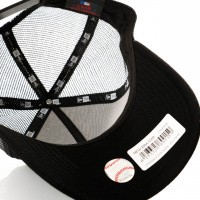 Afbeelding van New Era League Essential Trucker 11945648 Trucker Cap Black/Black Los Angeles Dodgers