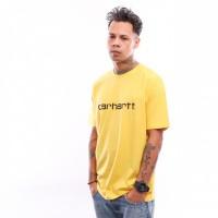 Afbeelding van Carhartt Wip S/S Script T-Shirt I023803 T Shirt Primula / Black
