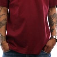 Afbeelding van Carhartt WIP S/S College T-Shirt I024772 T shirt Mulberry / White
