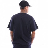 Afbeelding van Carhartt Wip S/S Script Embroidery T-Shirt I025778 T Shirt Dark Navy / White