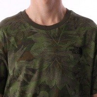 Afbeelding van The North Face T92TX5-1TH T-shirt Simple dome Groen