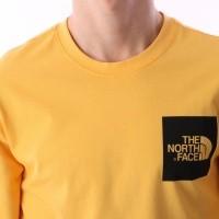 Afbeelding van The North Face T937FT-70M Longsleeve Fine Geel