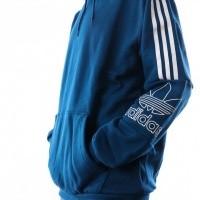 Afbeelding van Adidas Outline Hoodie Dx3851 Hooded Legend Marine