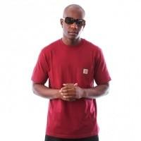 Afbeelding van Carhartt WIP S/S Pocket T-Shirt I022091 T-shirt Mulberry
