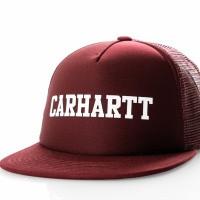 Carhartt WIP College Trucker Cap I025652 Trucker Cap Merlot / White