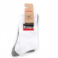 Levi'S Bodywear Regular Cut Sprtswr Logo 983041001 Sokken White / Grey