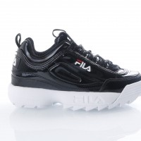 Fila Ladies 1010303-25Y Sneakers Disruptor Metallic Black