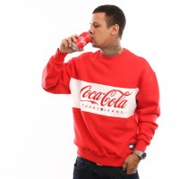 Tommy Hilfiger TJM Tommy X Coca Cola Sweat DM0DM06690 Crewneck Coca Cola