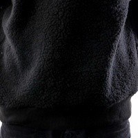 Afbeelding van Instinct One Patched Sherpa IO-18018 Hooded Black