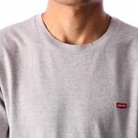 Afbeelding van Levi`s SS Original HM Tee 56605-0008 T-Shirt Tri-Blend / Patch Gray Violet