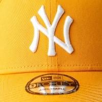 Afbeelding van New Era LEAGUE ESSENTIAL 9FORTY NEW YORK YANKEES 80636013 dadcap BUTTERSQUASH/OPTIC WHITE MLB