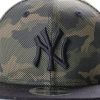 Afbeelding van New Era MESH OVERLAY 9FIFTY NE80536366 Snapback cap wdcblk MLB