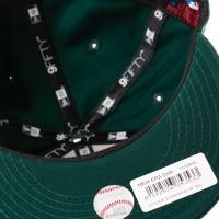 Afbeelding van New Era League Essential 9Fifty San Francisco Giants 11794685 Snapback Cap Dark Green/Black Mlb