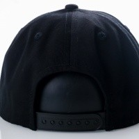 Afbeelding van Ethos Basic snap KNW-1467 black KNW-1467 dad cap black