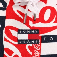 Afbeelding van Tommy Hilfiger TJM Tommy X Coca Cola Aop Hoodie DM0DM06867 Hooded Coca Cola Aop
