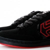 Afbeelding van Etnies METAL MULISHA SWIVEL 4107000523 Sneakers BLACK/BLACK/RED 60