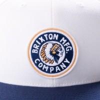 Afbeelding van Brixton RIVAL SNAPBACK 267 snapback cap WHITE/NAVY