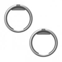 Afbeelding van Orbitkey Ring Twin Pack RNG-TWIN-SVCC Sleutelhanger Charcoal