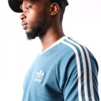 Afbeelding van Adidas 3-STRIPES TEE DV2554 t-shirt BLABLU