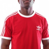Afbeelding van Adidas 3-STRIPES TEE DV1565 T shirt power red