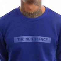 Afbeelding van The North Face M Lht Crew T93RYD Crewneck Lapis Blue