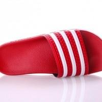 Afbeelding van Adidas ADILETTE ADICOLOR VAR 288193 Slippers LIGHT SCARLET/WHITE/LIGHT SCARLET