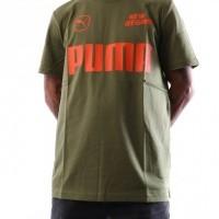 Afbeelding van Puma ANR Tee 576550 T shirt Olive Branch