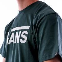 Afbeelding van Vans VANS CLASSIC V00GGGRQI t-shirt DARKEST SPRUCE-WHITE