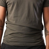 Afbeelding van The North Face M S/S SIMPLE DOME TE T92TX5BQW T shirt NEW TAUPE GREEN/TNF BLACK