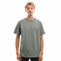 Carhartt WIP S/S Chase T-Shirt I026391 T shirt Cloudy / Gold