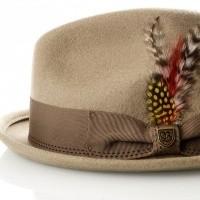 Afbeelding van Brixton GAIN FEDORA 1 hoed KHAKI
