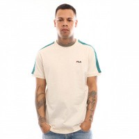 Afbeelding van Fila Salus Tee Ss 687010 T shirt Whitecap Gray-Shaded Spruce